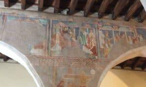 Affreschi Cattedrale San Pietro Galtellì
